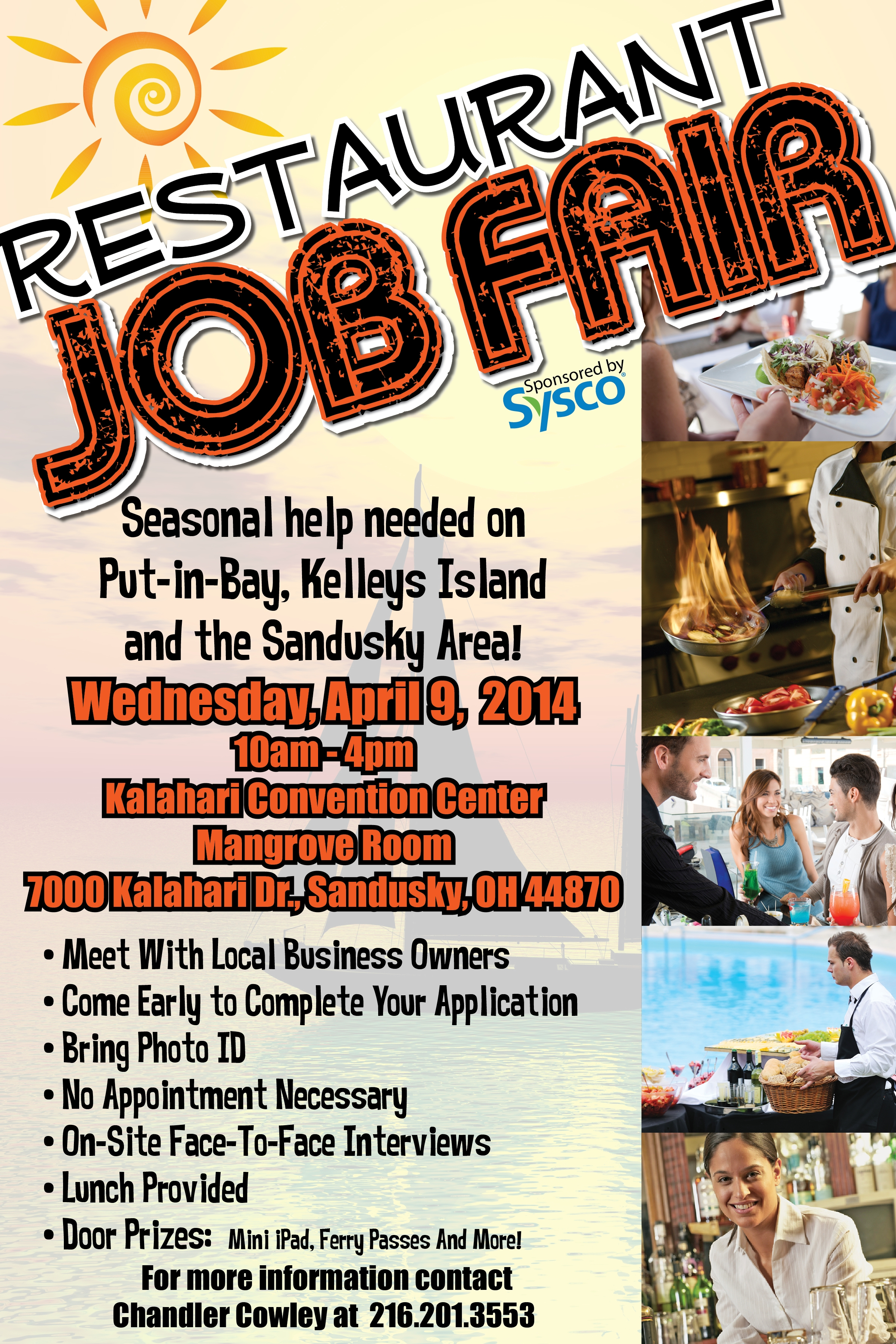 2014 Restaurant Job Fair Is April 9th At Kalahari In